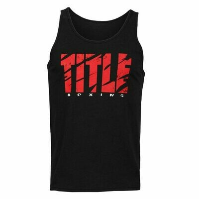 TITLE Boxing Shred Workout Tank Top