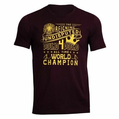 TITLE Boxing Undisputed Champion Tee
