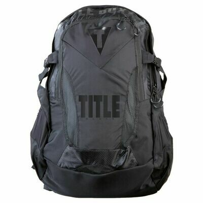 TITLE BLACK Besieged Back Pack