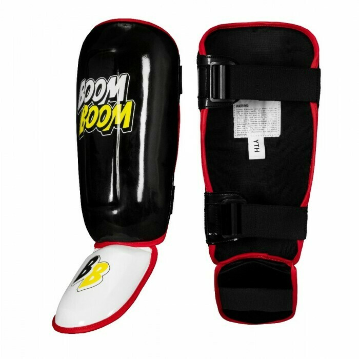 Boom Boom Bomber Youth Shin Guards BBBSGY Y BK