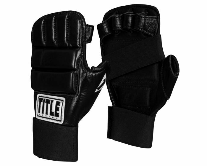 TITLE Boxing Leather Super Speed Bag Gloves