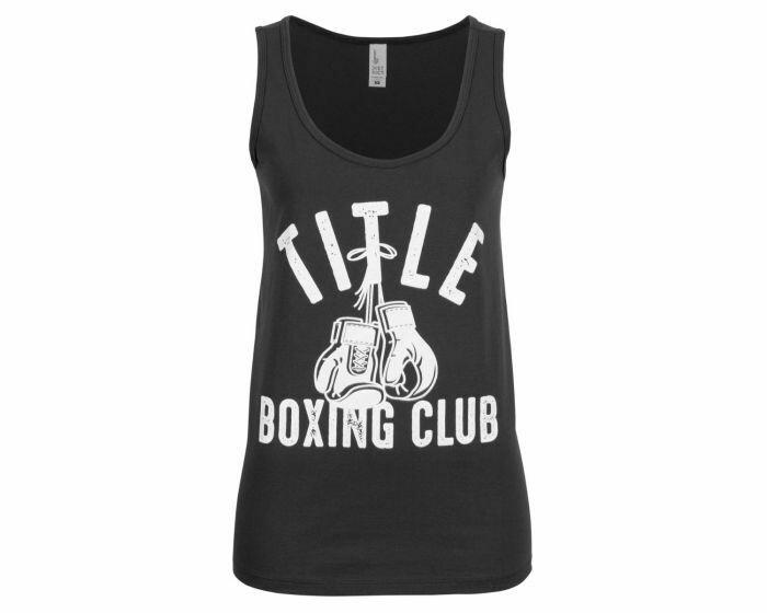 TITLE Boxing Club Women's Fundamental Tank