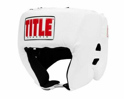 TITLE Classic USA Boxing Competition Headgear-Open Face