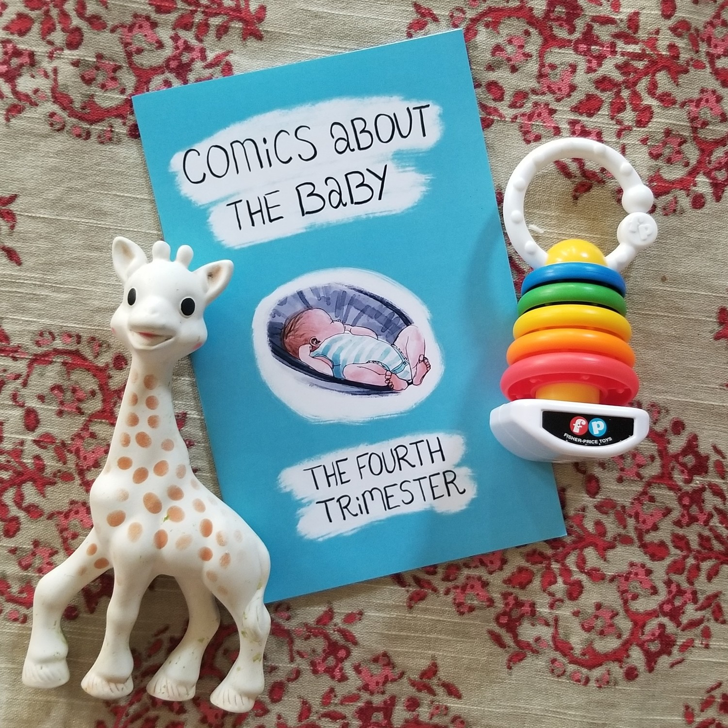 Comics About the Baby: The Fourth Trimester - zine