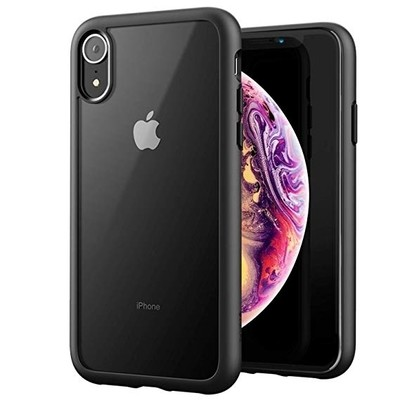 BACK CASE APPLE IPHONE XR HARD CASE BLACK