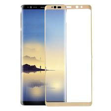 TEMPERED GLASS SCREEN PROTECTOR BASEUS FULL GLUE SAMSUNG GALAXY NOTE 8 N950 GOLD