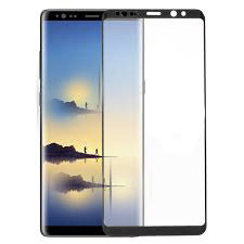 TEMPERED GLASS FULL GLUE SCREEN PROTECTOR SAMSUNG GALAXY NOTE 8 N950 BLACK