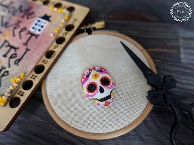 """Магнит """"Мексиканский черепок"""" 00327"""