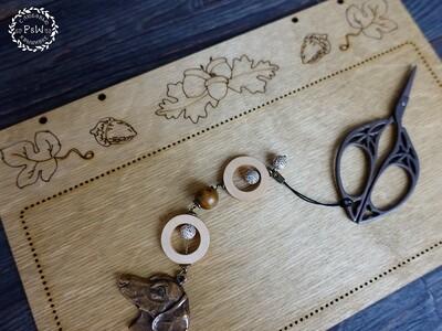 """""""Осенняя панелька"""" для оформления вышивки, св. палисандр 00344"""