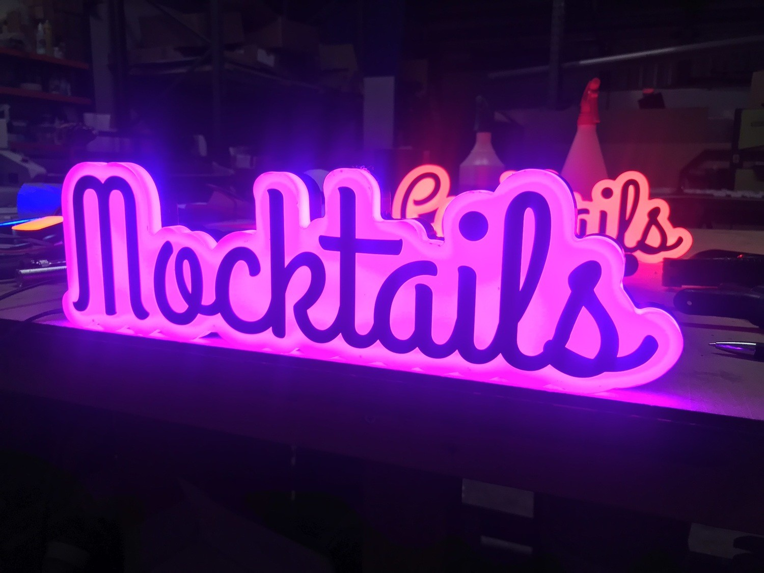 24v Mocktail Sign