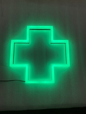 12v or 24v Illuminated Pharmacy Sign
