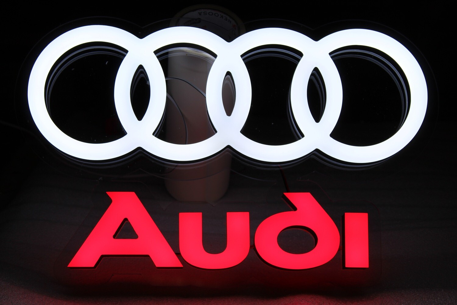 12v or 24v Illuminated Audi Sign
