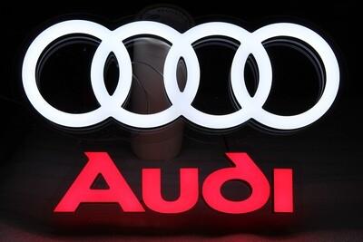12v or 24v Illuminated Audi Sign