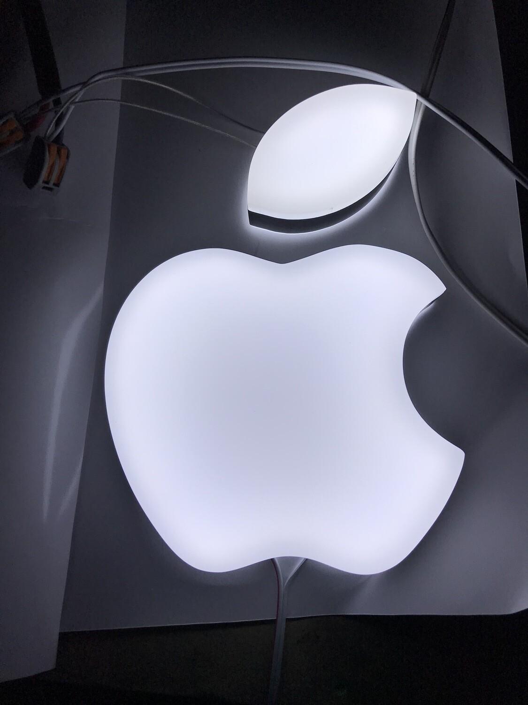 12v or 24v Illuminated Apple Logo