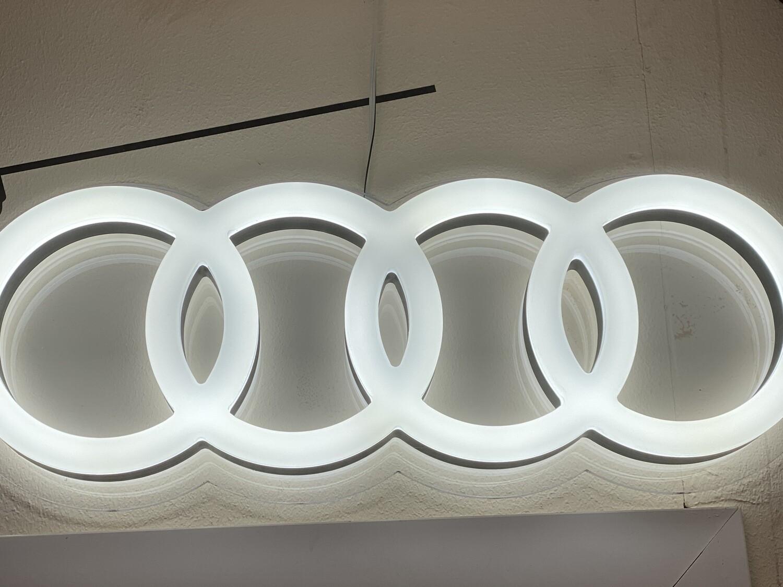 12v or 24v Illuminated Large Audi Rings