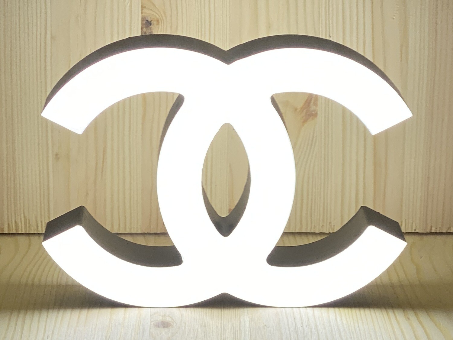 12v or 24v Illuminated Coco Chanel Sign