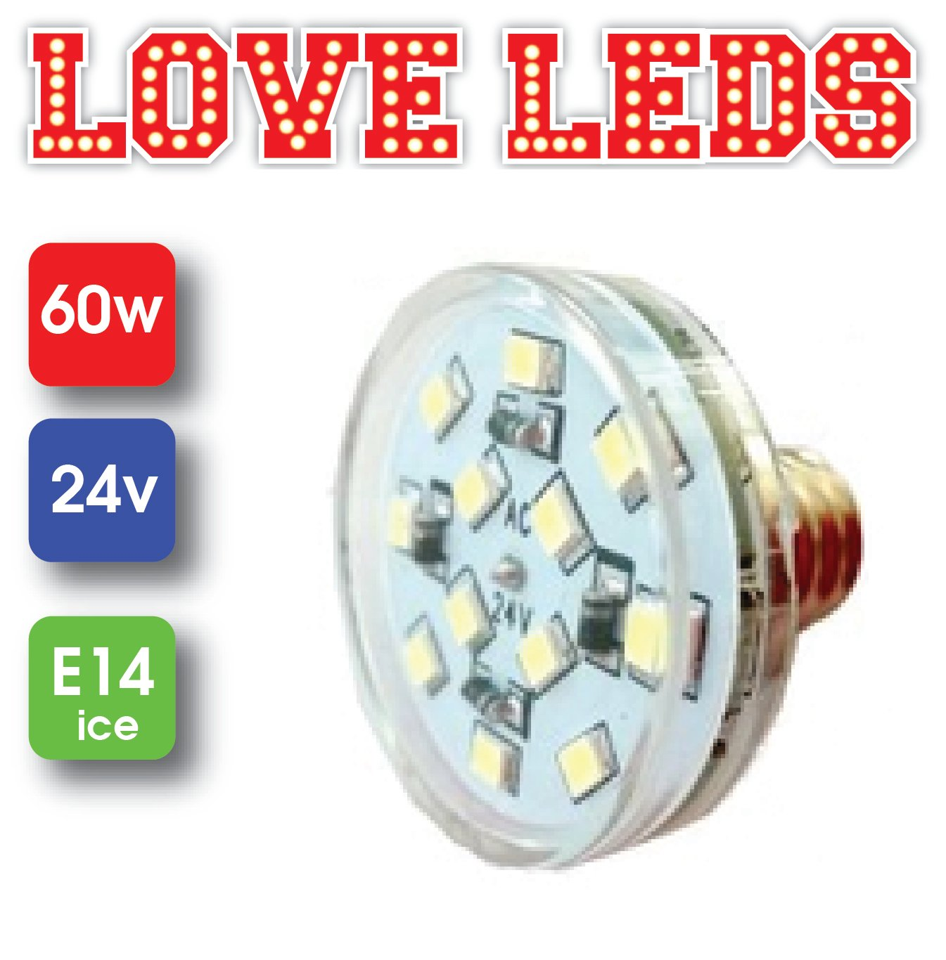 E14 16 LED Module 24v