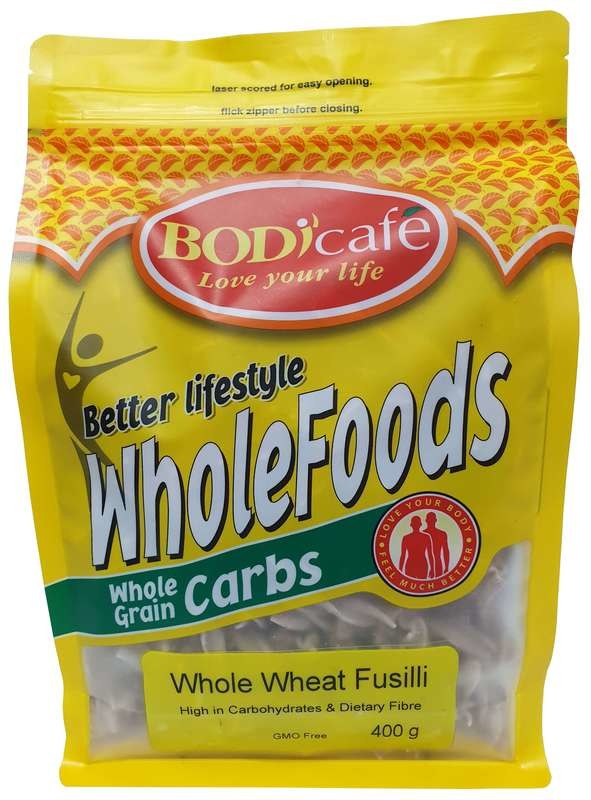 Fusilli (Whole Wheat) 400g
