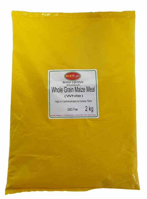 Whole Grain Maize Meal (White) 2kg