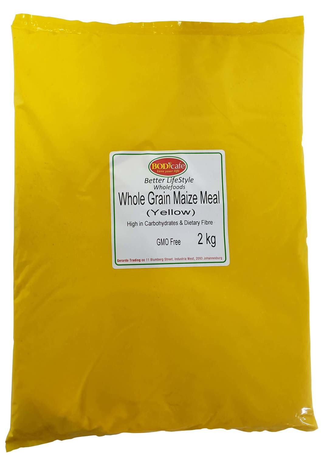 Whole Grain Maize Meal (Yellow) 2kg