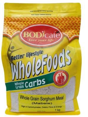 Whole Grain Sorghum Meal (Mabele) 1kg