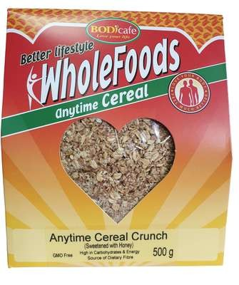 Anytime Cereal Crunch (Sweetened with Honey) 500g
