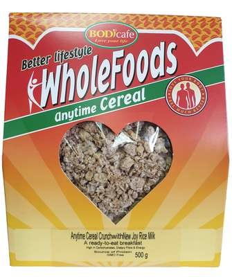 Anytime Cereal Crunch With New Joy Rice Milk 500g