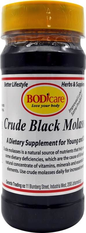 Crude Black Molasses 500g Aliment