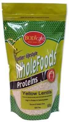 Yellow Lentils 500g