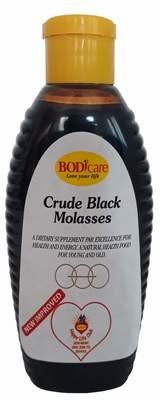 Crude Black Molasses 475g Aliment Squeeze