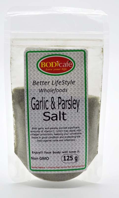 Garlic & Parsley Salt 125g