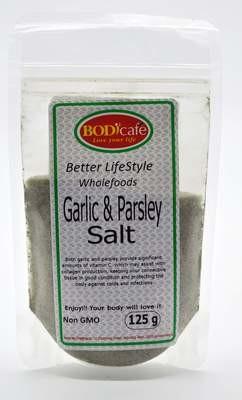 Garlic & Parsley Salt 125g