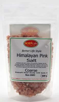 Himalayan Pink Salt (Coarse) 500g