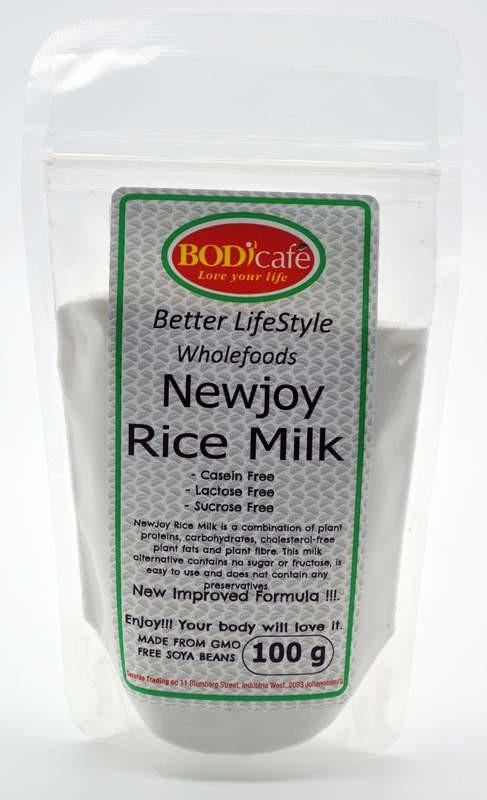 NewJoy Rice Milk Powder (Casein Free) 100g