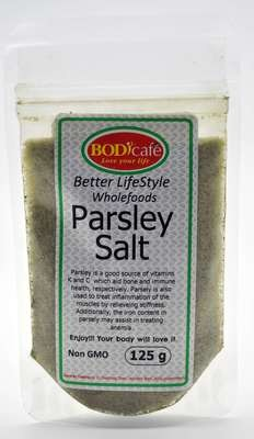 Parsley Salt 125g