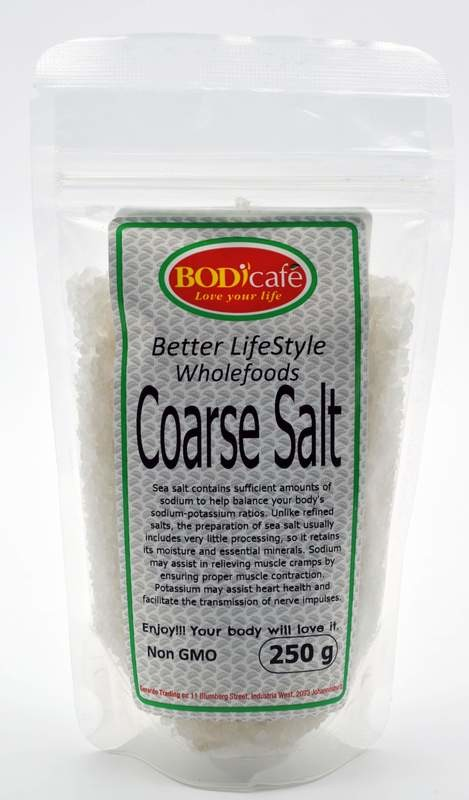 Sea Salt (Coarse) 250g