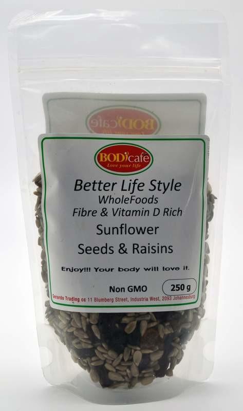 Sunflower Seeds  & Raisins 250g