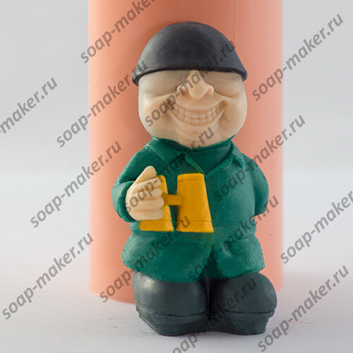 Солдат с биноклем 3D