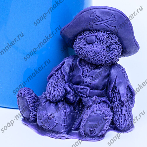 Тедди пират 3D