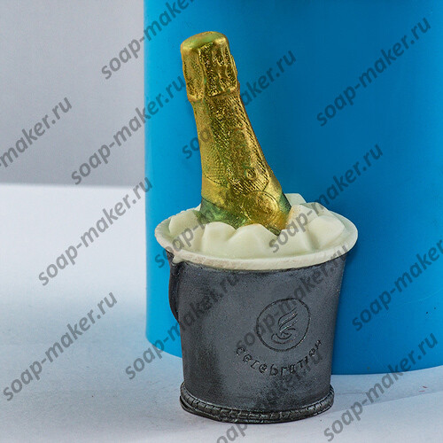Шампанское в ведерке 3D
