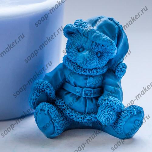 Мишка дед мороз 3D