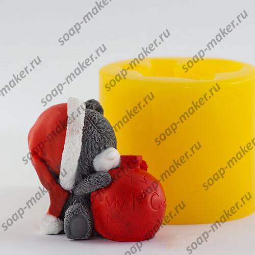 Тедди с шариком 3D