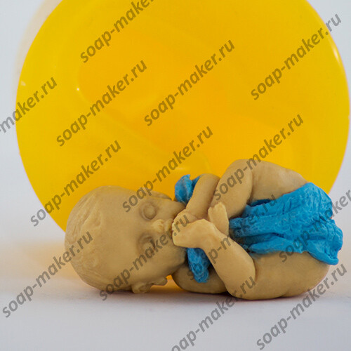 Малыш с полотенцем 3D