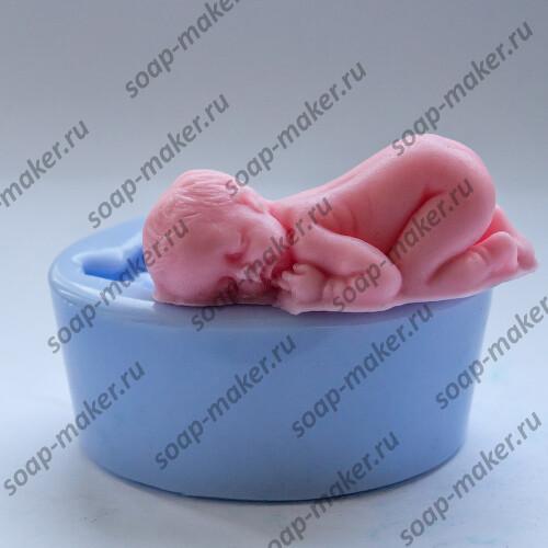 Спящий малыш 3D
