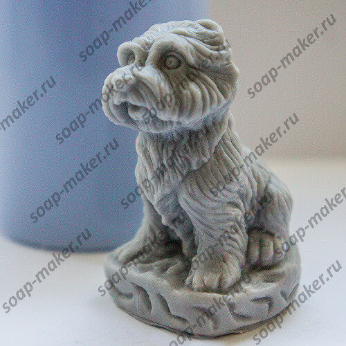Маленький пес 3D