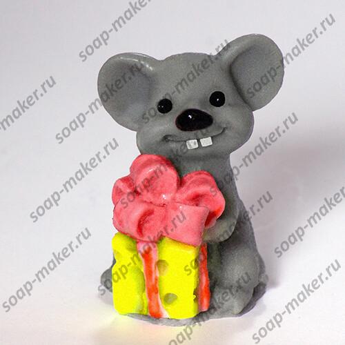 Мышка с подарком 3D