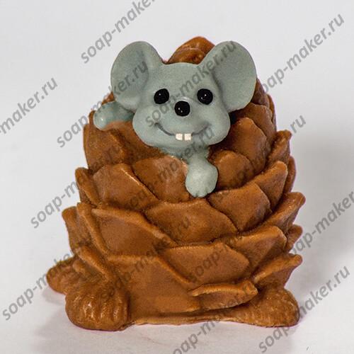 Мышка в шишке 3D