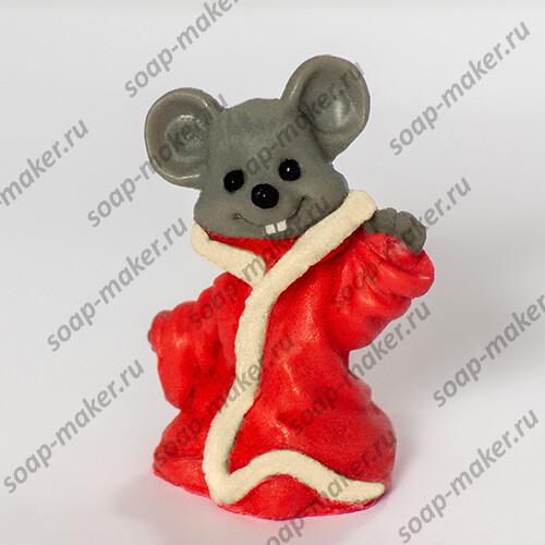 Мышонок в шубе 3D
