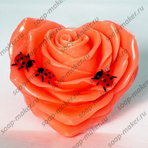 Сердце роза 2D