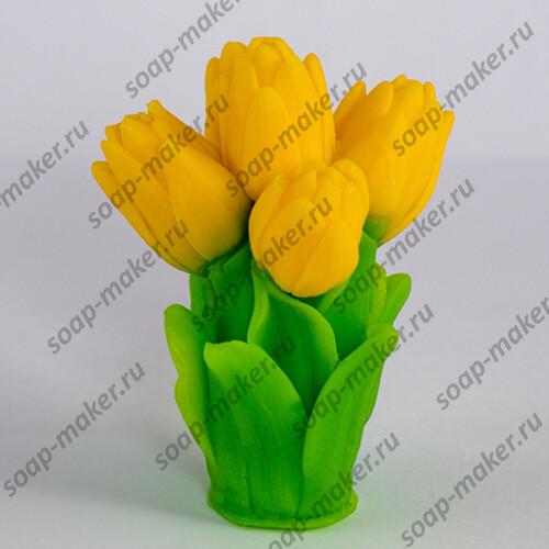 Букет тюльпанов 3 3D